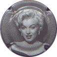 807 à 807d Série de  5  capsules  de Champagne  Générique Marylin Monroe ref
